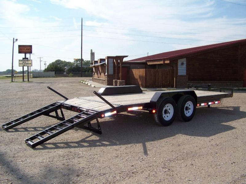 2018 PJ Trailers 6 in. Channel Equipment Trailer