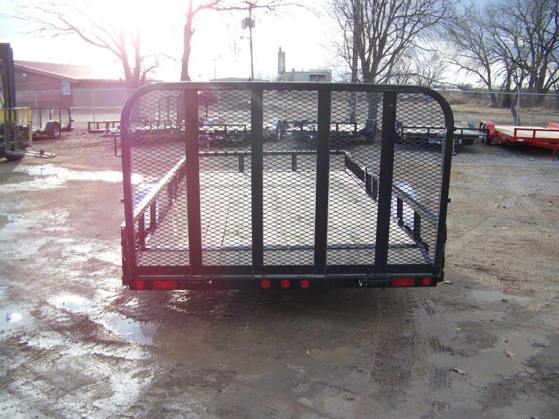 "2018 PJ Trailers 14'x83"" Single Axle Channel Utility Trailer"