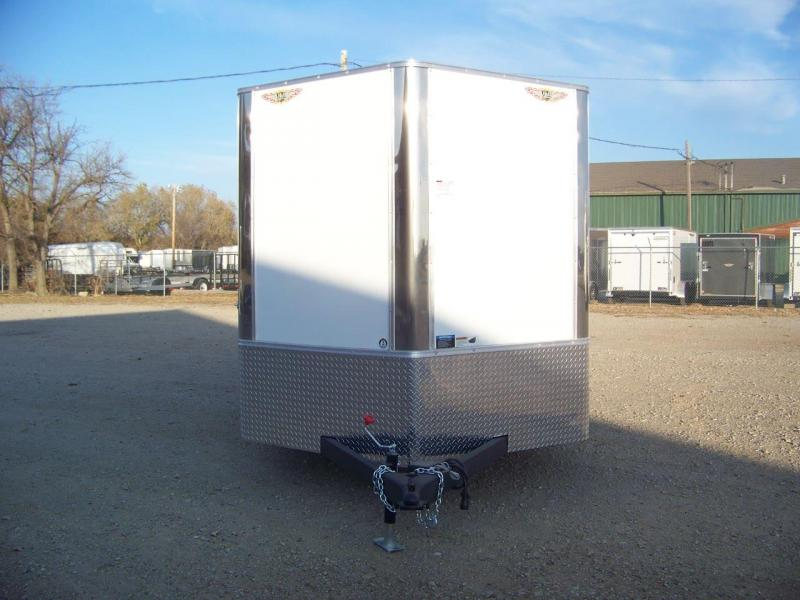 2018 H and H Trailer 7X14 Enclosed Cargo Trailer