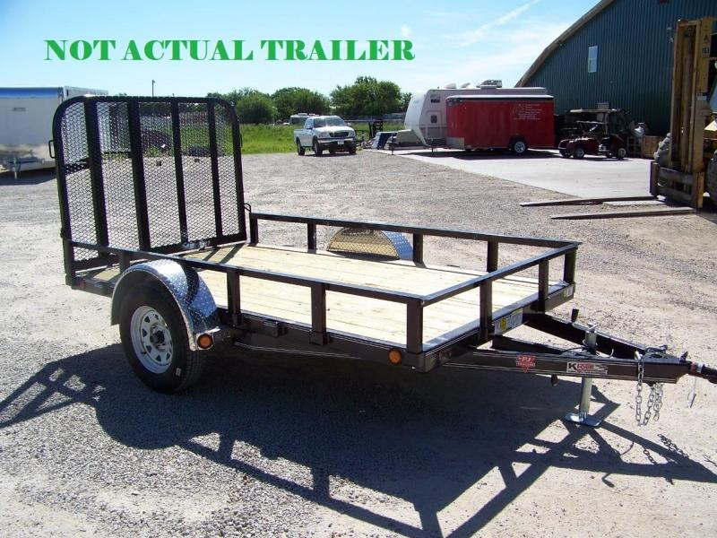 "2018 PJ Trailers 12' x 83"" Tandem Axle Channel Utili Trailer"