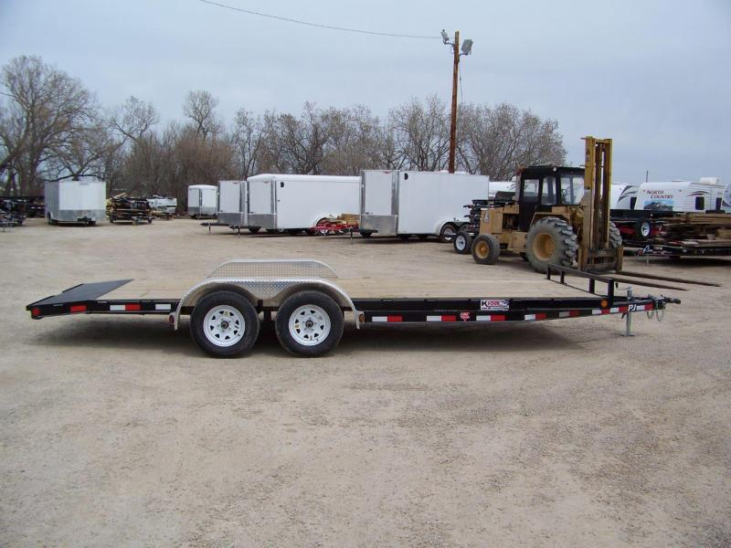 "2018 PJ Trailers 5"" Channel Carhauler"