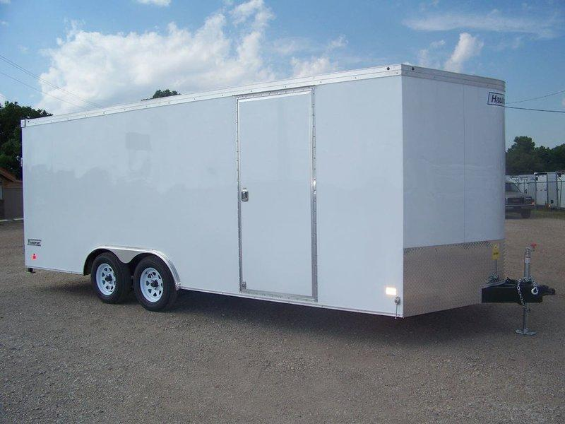 2017 Haulmark Transport 8.5x20 V-Nose Enclosed Car / Racing Trailer