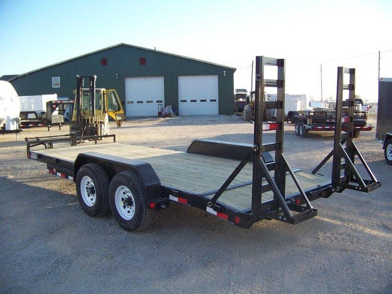"2016 PJ Trailers 6"" Channel Equipment (CC) 18'"