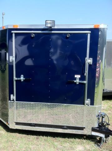 Diamond Cargo 8.5x24 Enclosed Snowmobile Trailer with 5' Ramp