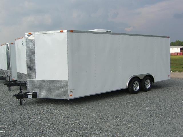 Diamond Cargo 8.5X20 TVR Cargo Trailer W/ AC