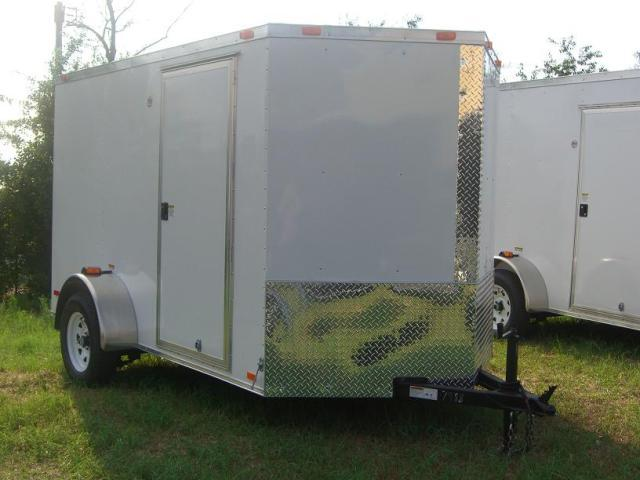 Diamond Cargo 6X12 SVR Enclosed Trailer