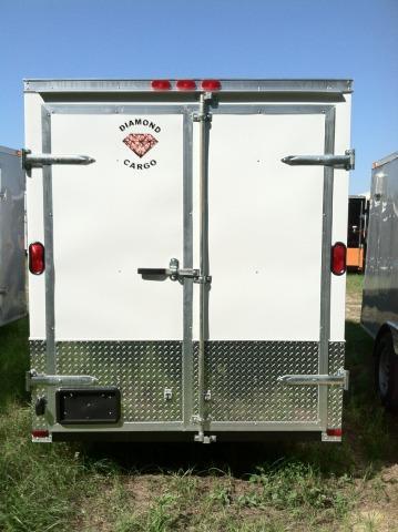 Diamond Cargo 6 x12 SA Enclosed Trailer EXTRA HEIGHT ATP ELECT BRAKE