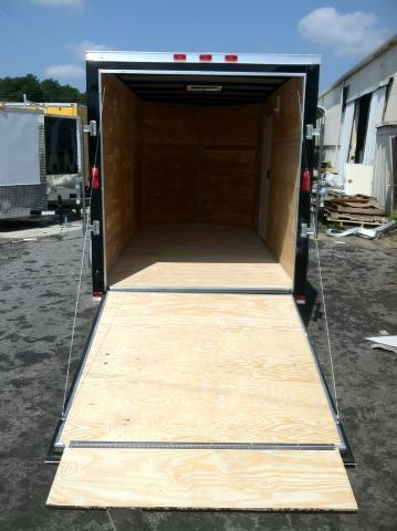 Diamond Cargo 6x12 Enclosed Cargo Trailer .030 Black w / Thermo Cool Ceiling