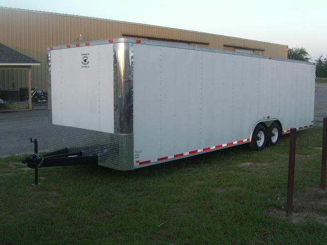 8.5X28 TR Enclosed Cargo Trailer 5200 lb. Axles