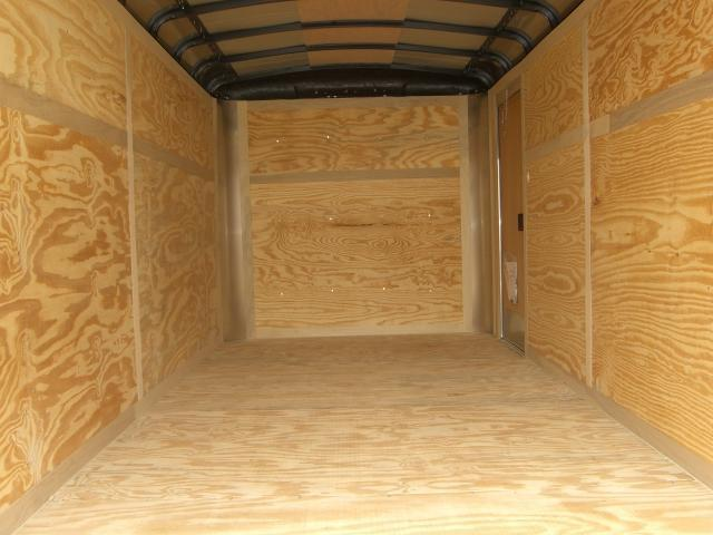 Diamond Cargo 7X16 TR Enclosed Cargo Trailer 6'8 Int.