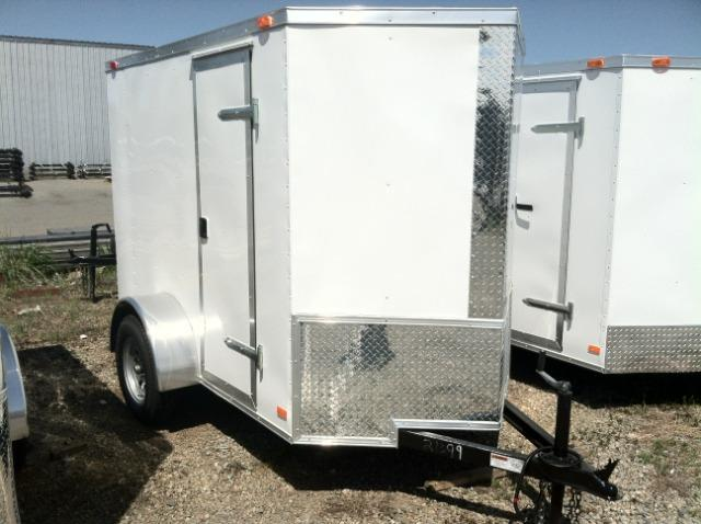 Diamond Cargo 5x8 Enclosed Cargo Trailer W/ Extra Height