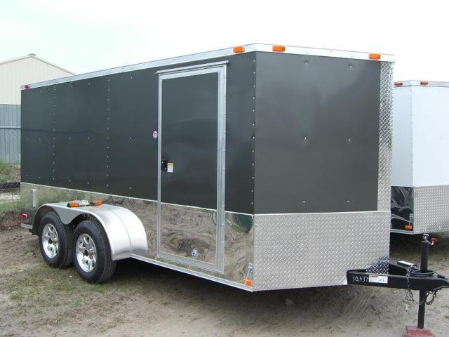 Diamond Cargo 7x14 TVRM Enclosed Motorcycle Trailer On ...