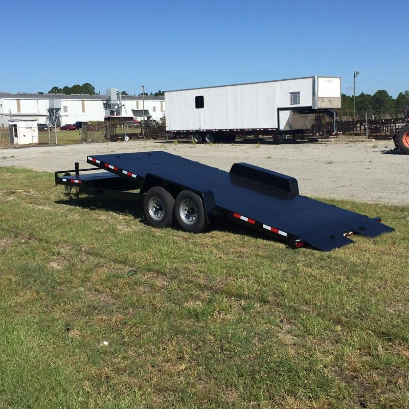2018 Down 2 Earth 82x20TA-5200 CH Car / Racing Trailer