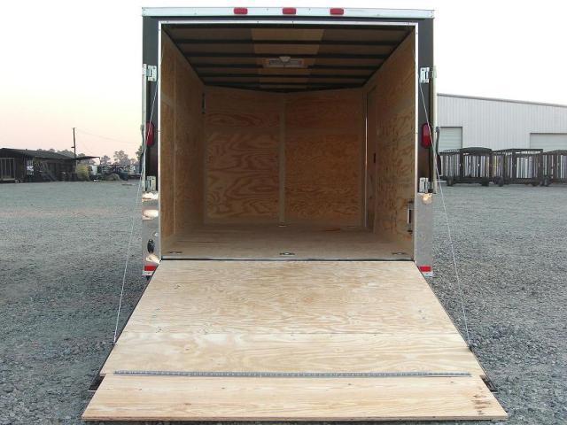 Diamond Cargo 6X12 SVRM Enclosed Bike Trailer W/ Color
