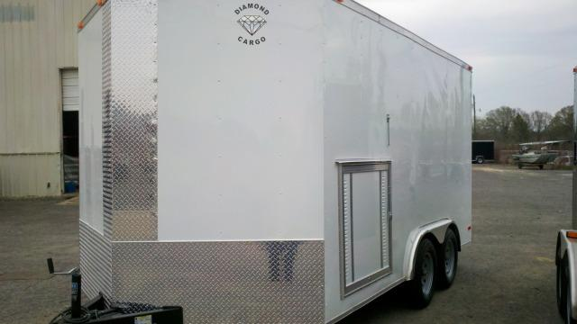 Diamond Cargo 8x14 Enclosed Cargo Trailer