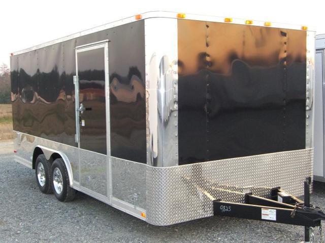 Diamond Cargo 8.5X16 TR Multi-Bike Trailer