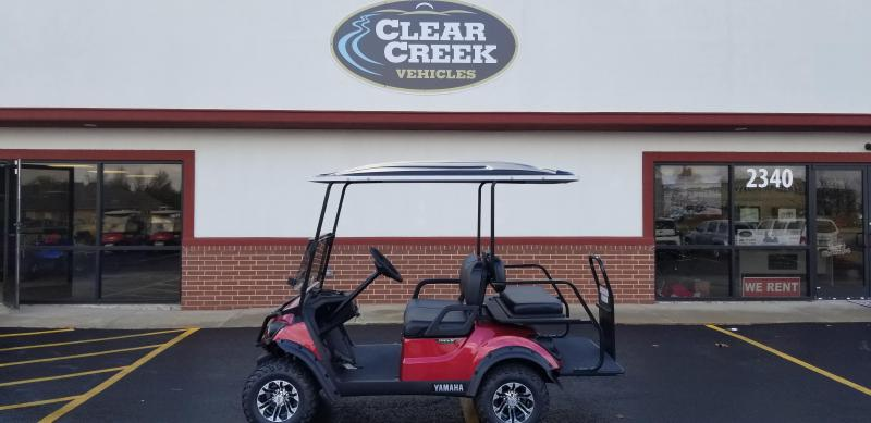 2019 Yamaha Electric 2 + 2 Golf Car