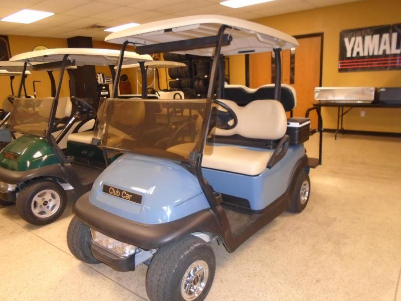2012 Club Car Precedent Electric 4 Passenger Golf Cart