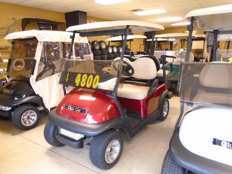 2013 Club Car Precedent Electric 4 Passenger Golf Cart