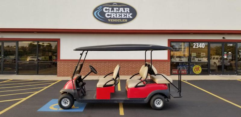 2014 Club Car Precedent 6 Pass Golf Car