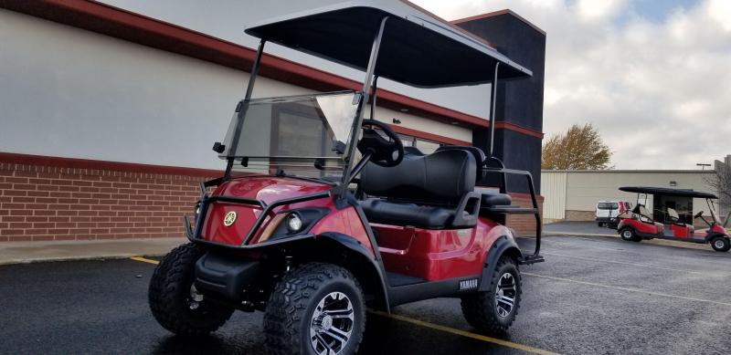 2019 Yamaha Adv. Sport 2 + 2 Golf Car (Gas)