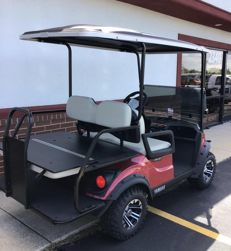 2019 Yamaha Adv. Sport 2 + 2 Golf Car (Electric)