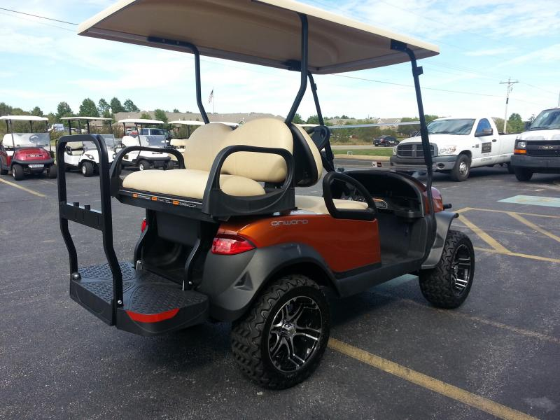 2018 Club Car Onward 4 Passenger Gas Lifted Ptv Clearcreek Golf
