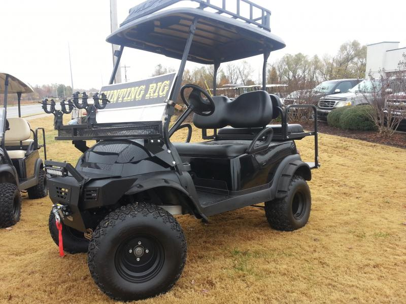Tricked Out Hunting Rig with Winch Roof Rack and Gun Mounts