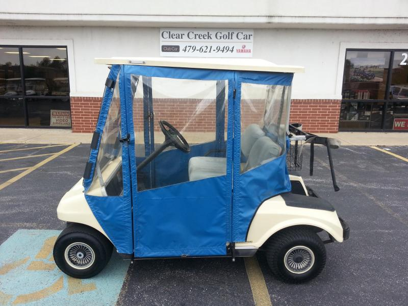 2000 Club Car Gas DS Golf Cart with Doorworks Enclosure
