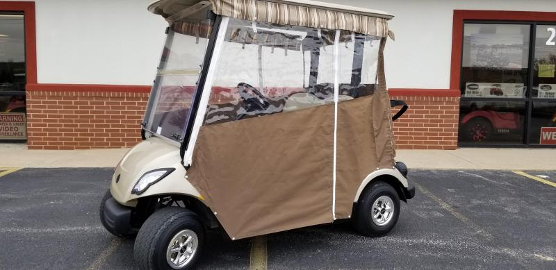 Yamaha Golf Cart Enclosures Sunbrella on golf cart convertible top, golf cart side curtains, golf cart rain curtains,