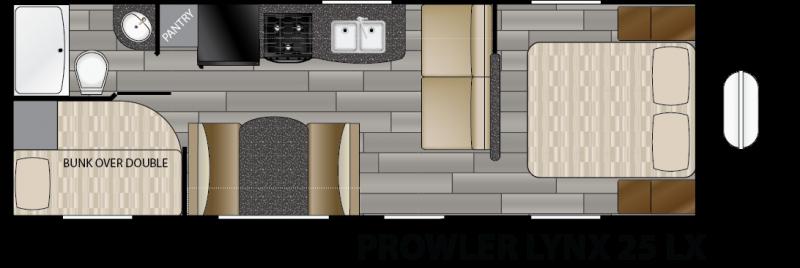 2018 Heartland Prowler 25LX Bunk House