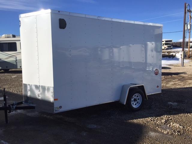 2016 Wells Cargo 6X12 Enclosed Cargo Trailer