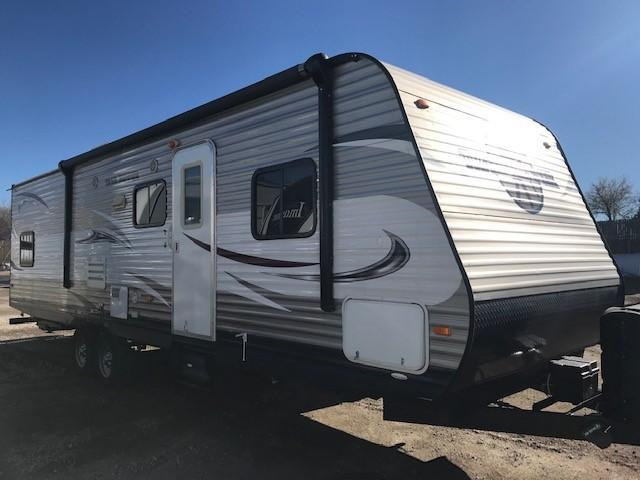 2014 Heartland Trailer Runner 30 USBH Bunk House