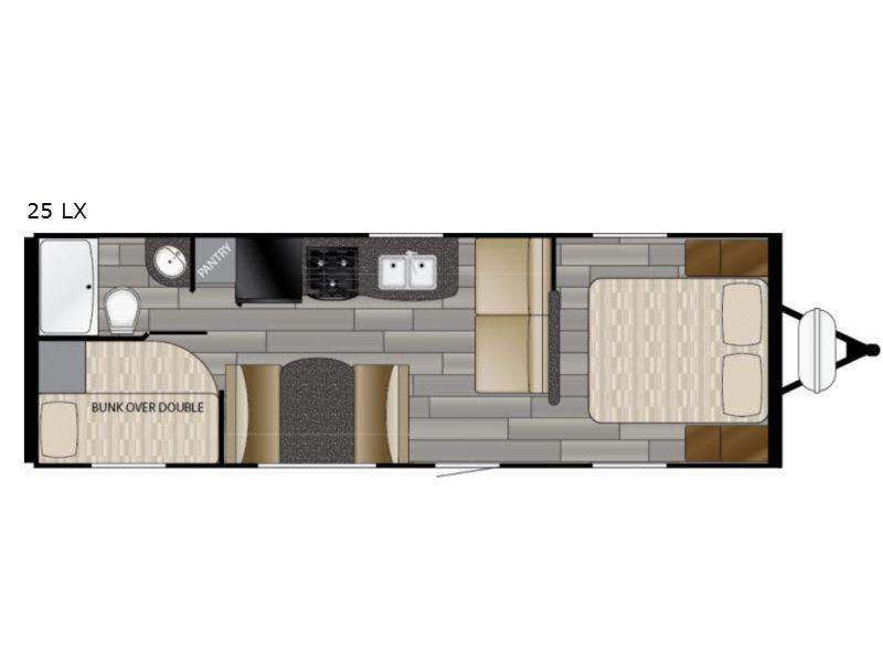 2019 Heartland Prowler Lynx 25LX Bunk House