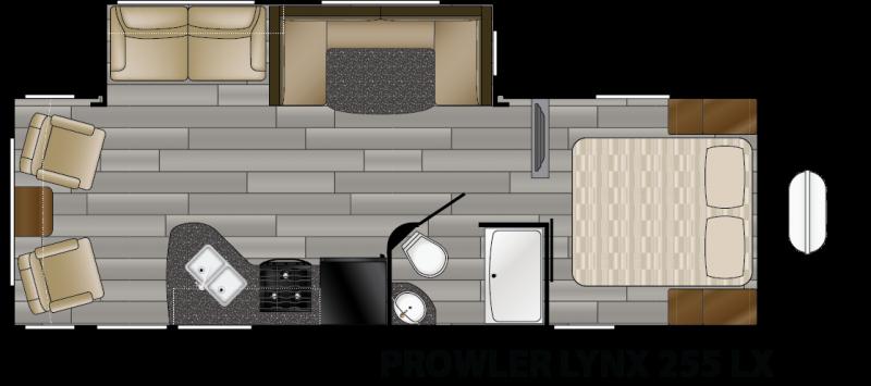 2019 Heartland Prowler Lynx 255 LX