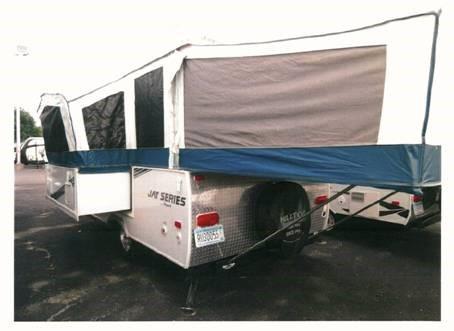 2011 Jayco 141J HW Tent Camper