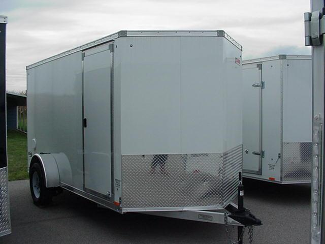 REDUCED 2016 Pace American Elite ALL ALUMINUM 6' X 12 V Nose w/ Ramp