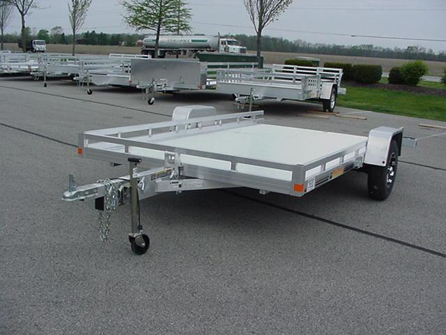"Bear Track 822  81"" x 128"" SA Aluminum Tilt Deck Utility"