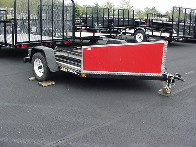 2012 Nomanco One or Two Bike  Motorcycle Trailer 80
