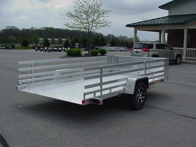 "Bear Track  81 x 12'8"" Aluminum SA Tilt Deck w/ Removable Sides & Rockguard"