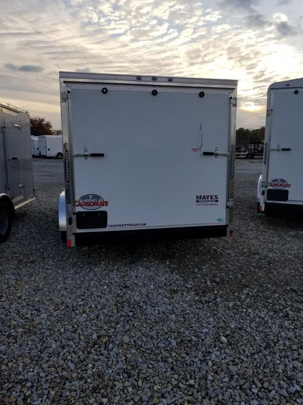 2018 7x16 Cargo Mate EHW716TA2 Enclosed Cargo Trailer - Polar White (RD)(GVW: 7000)
