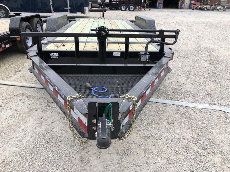2019 83x18 (2+16) Load Trail TH8318072 Equipment Trailer - Tilt-N-Go - D-Rings - Tool Tray (GVW:  14000)