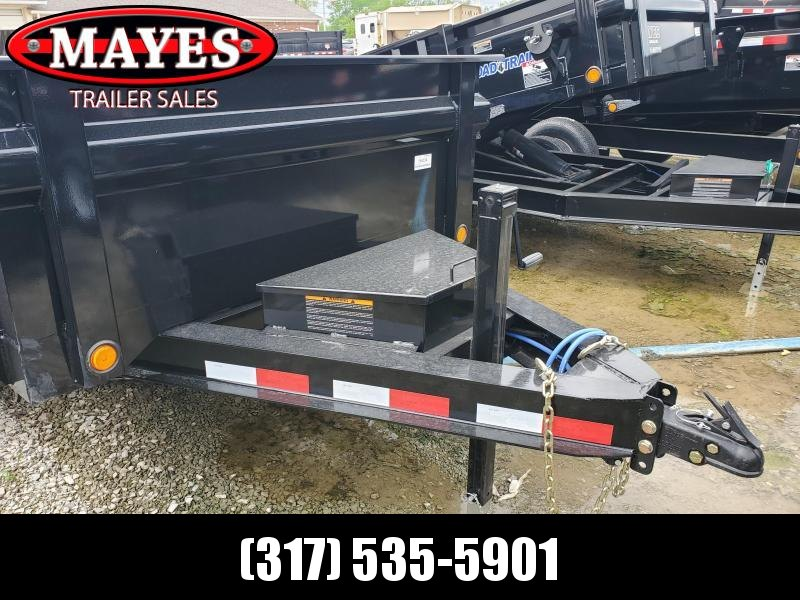2019 72x12 TA Load Trail DT7212072 Dump Trailer - 3-Way Gate - Ramps - Scissor Hoist (GVW:  14000)