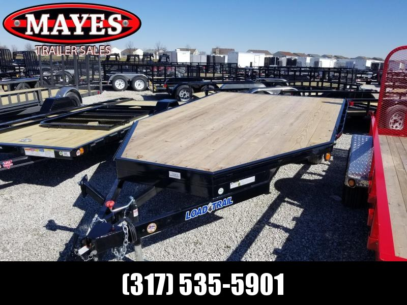 2018 96x14 Load Trail TV Single Axle Deck Over ATV Trailer - w/ 5' Slide-in Ramps (GVW: 2995)(Spare Tire Mount)