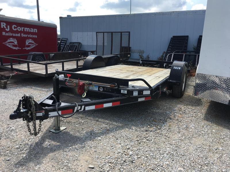 2017 83x13 PJ Trailers T1 Single Axle HD Tilt Trailer - (GVW: 7000) *USED*