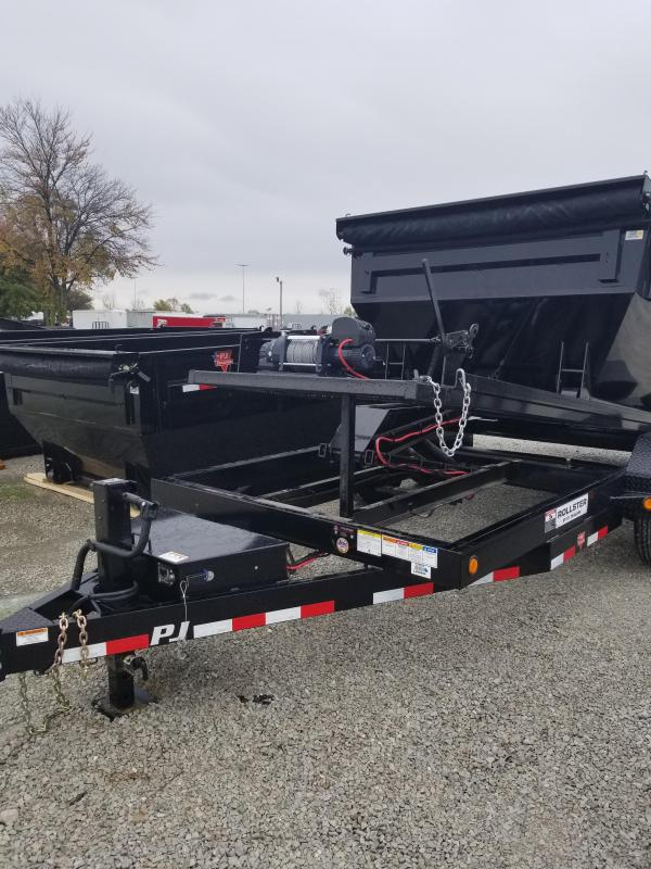 2018 83x14 PJ Trailers DR Rollster Roll Off Dump Trailer - (GVW: 14000)