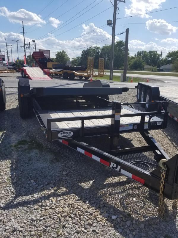 2018 82x20(16' Tilt + 4' Stationary) PJ Trailers TJ HD Tilt Trailer - (GVW: 16000)