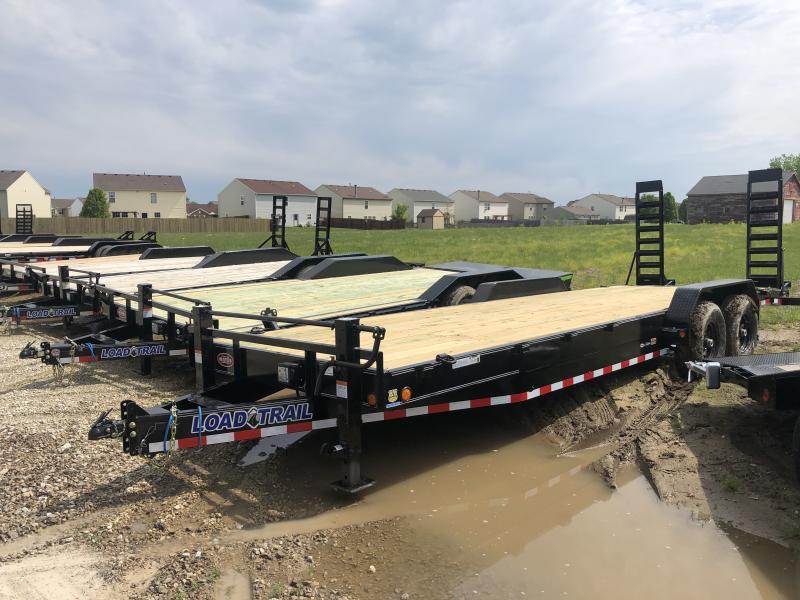 2019 83x24(22' + 2' Dovetail) Load Trail Equipment Hauler - w/ 5' Fold-up Ramps (GVW: 14000)