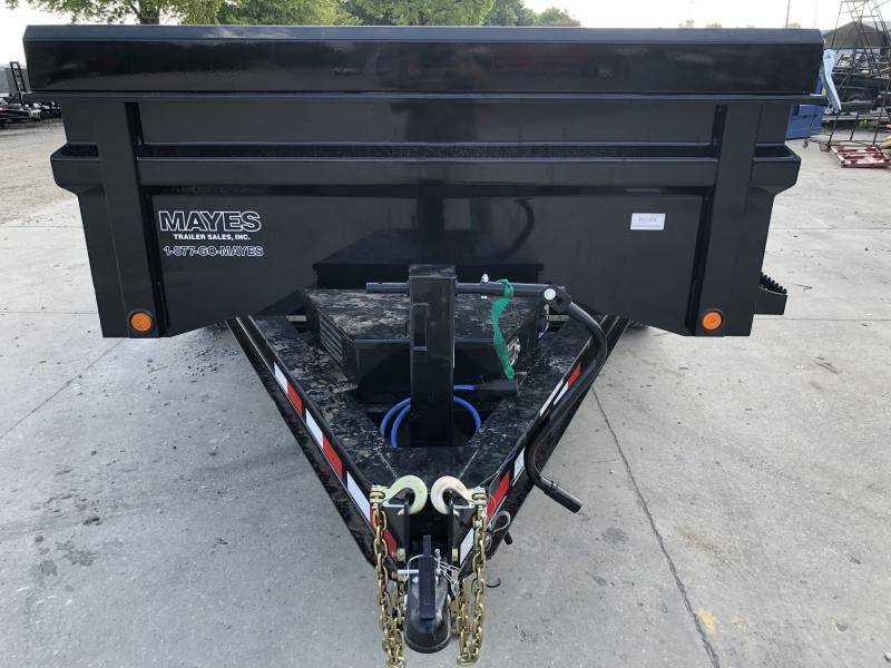 2019 83x12 TA Load Trail DT8312072 Dump Trailer - 3 Way Gate - Ramps - Scissor Hoist (GVW:  14000)