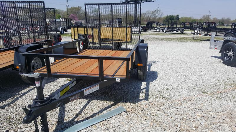2018 5x8 Forest River Inc. USASG58SA Utility Trailer - w/ 4' Fold-in Gate (GVW: 2990)